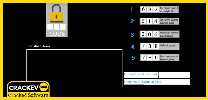 crack the code puzzle answer key