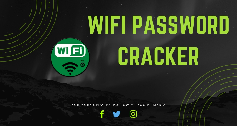 Wifi Password Cracker – Hack It -Direct Download Link | CrackEv