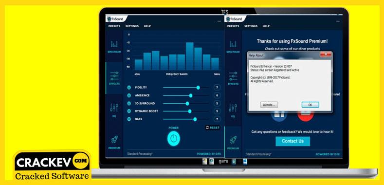 fxsound enhancer premium 13.025 + patch & keygen