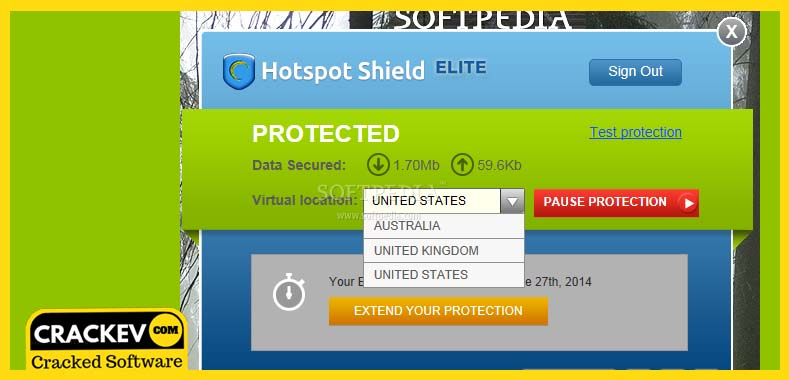 HotSpot Shield Crack [32/64] Bit Lifetime Full Version -2019