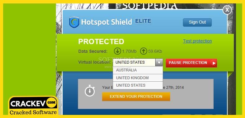 hotspot shield free download for windows 7 crack