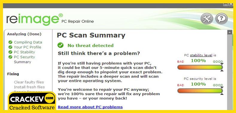 pc scan & repair by reimage full crack