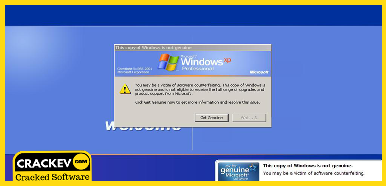 windows xp sp3 activation crack (100 working)