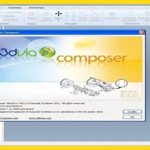 3DVIA Composer 6R2011 Crack + Setup [Latest] Download
