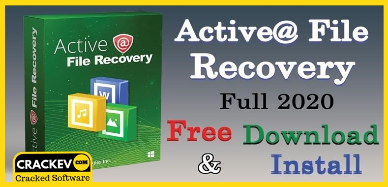 Active File Recovery Pro 2020 Crack