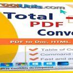 Coolutils Total PDF Converter 2020 Crack [Direct Download] Here! {Latest}