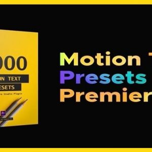 VideoHive Text Presets – Premiere Studio Plugin Crack 100% Working Direct Download