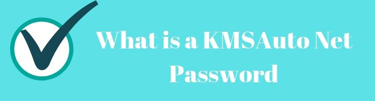What is a KMSAuto Net Password