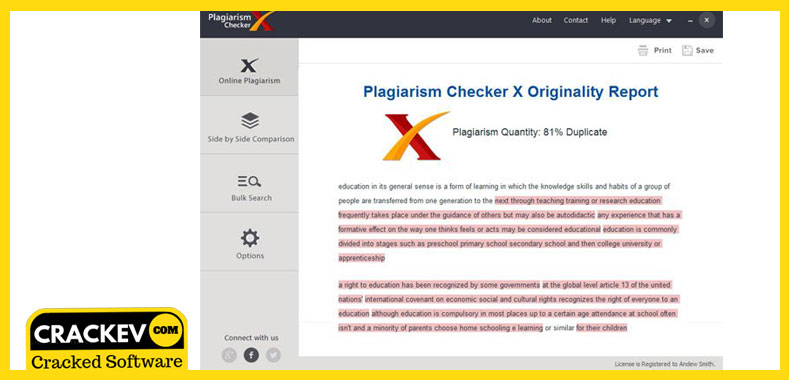 plagiarism checker x 2018 professional edition crack