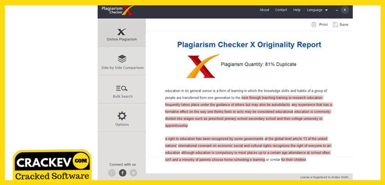 plagiarism checker x 2018 professional edition crack