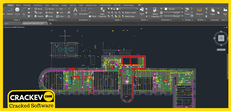 Autocad 2016 Crack [KEYGEN] - (64+32)Bit -Repaced 2019 | CrackEv
