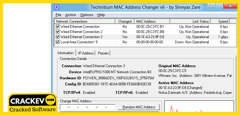 Change Mac Address Windows 10/8 1/7 [2019] - Latest Version | CrackEv