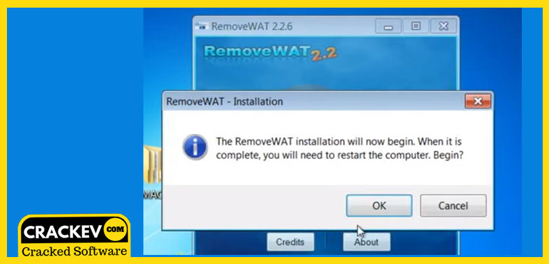 remove wat windows 7
