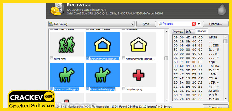 recuva free download for windows 7 with crack