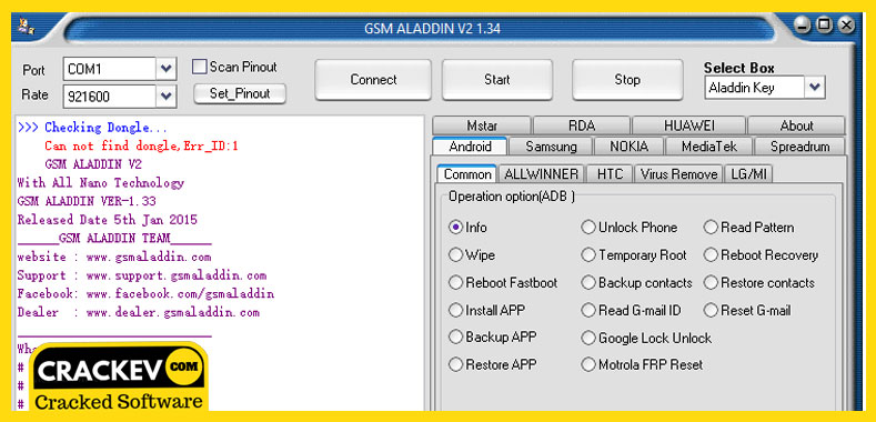 GSM Aladdin crack Download for pc Latest Version 2019 | CrackEv