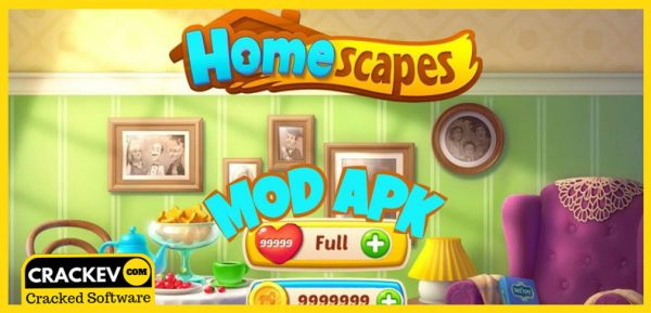 Homescapes Mod Apk Latest MOD, Unlimited Stars | CrackEv