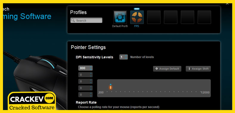 logitech gaming software applets