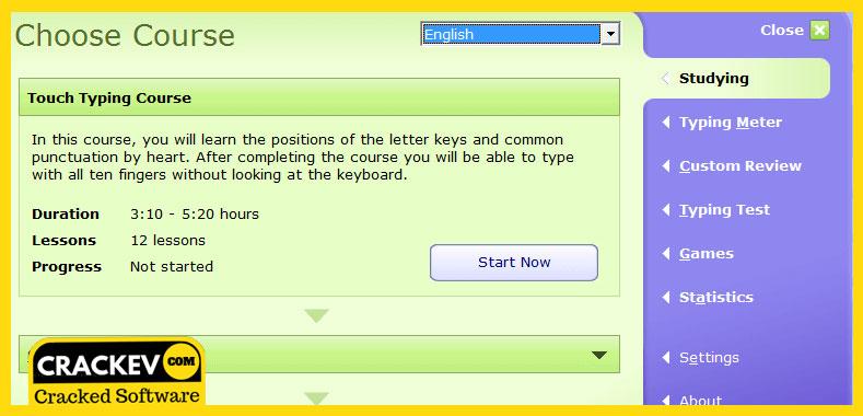 typing master 10 crack serial key