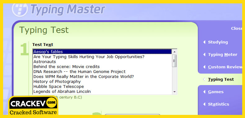 typing master 10 license id and product key for pc