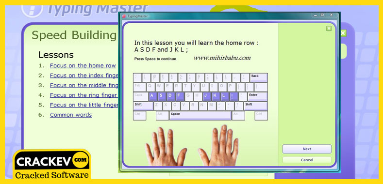 Image result for typing for learning crack