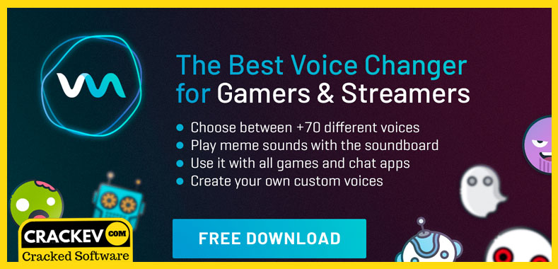 voicemod pro crack free download